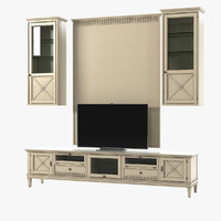 3d tosato living room entertainment model
