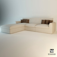 3d model of eichholtz sofa corner miami