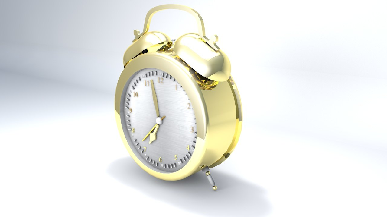 3d new alarm clock edition model