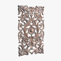 3d model decor door