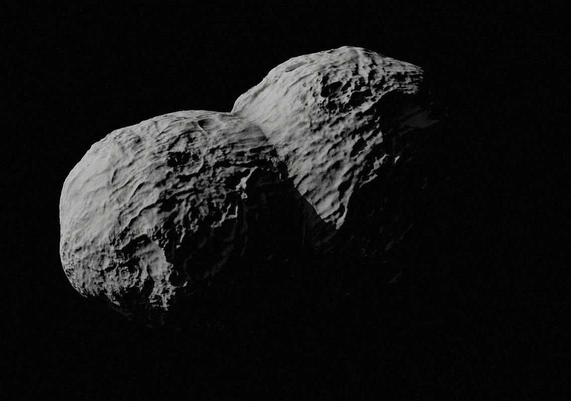 3d model comet