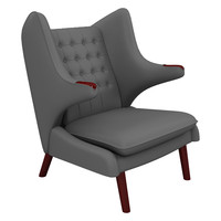 3d papa bear chair model