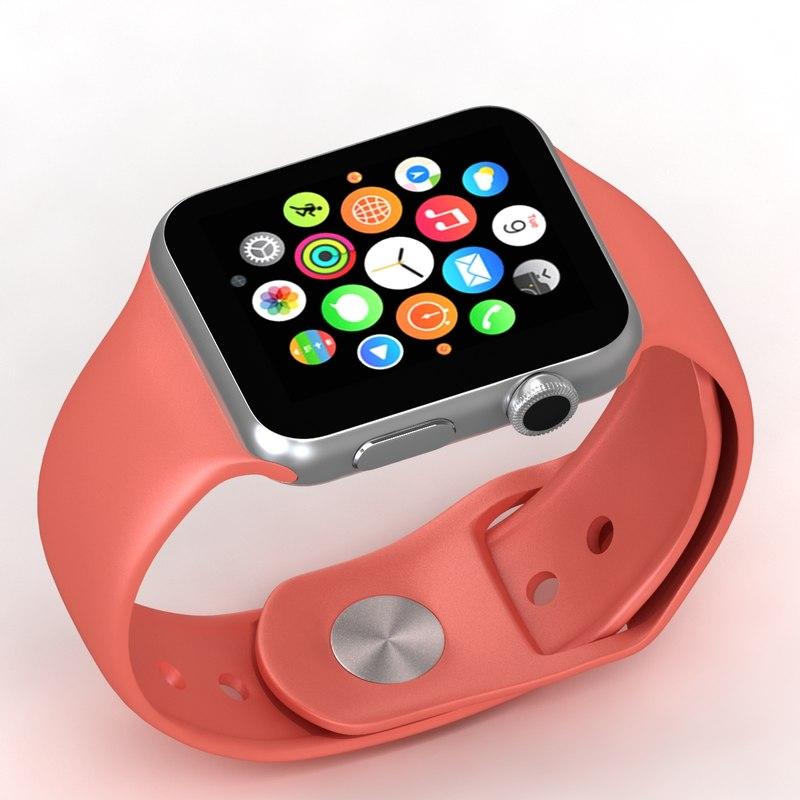 3d apple watch