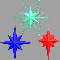 christmas stars 03