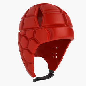 3ds max rugby helmet
