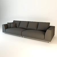 eichholtz sofa marlon 3d obj