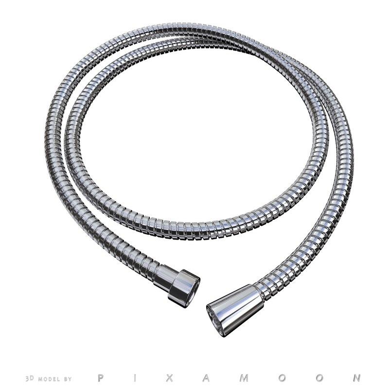3d max adjustable shower hose