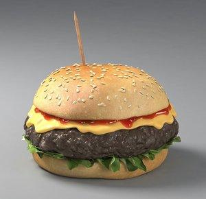 max burger cheeseburger