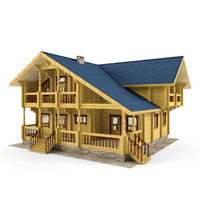 Wooden House 04