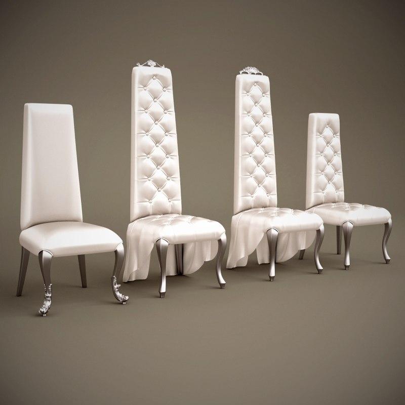 belloni subliminal chairs 3d model