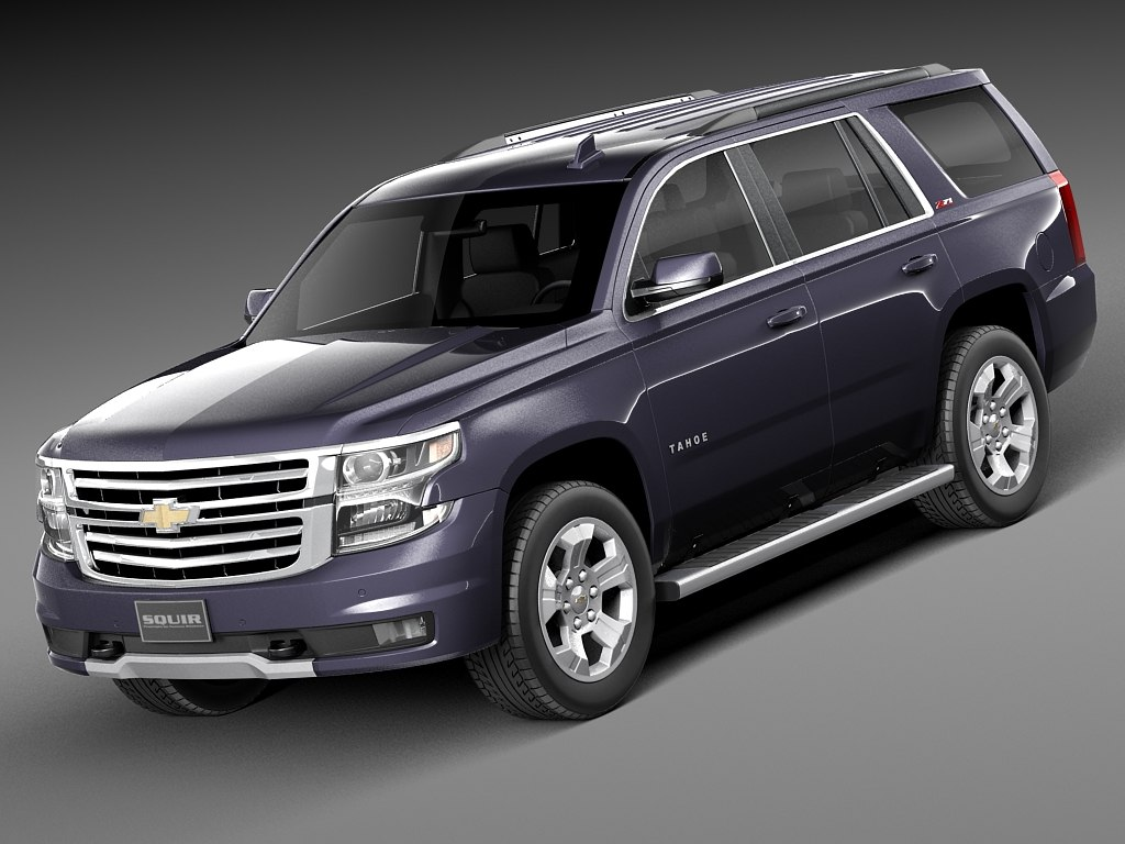 2015 chevrolet tahoe 3d model. Black Bedroom Furniture Sets. Home Design Ideas