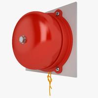 alarm bell 3d 3ds