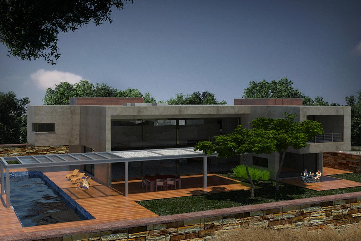 3d luxury villas
