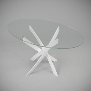 dinning table barone 3d model