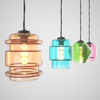 Glass Lamp Desgin
