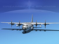 Lockheed C-130 Hercules Bare Metal