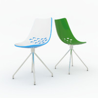 3d model calligaris jam chair cs1031