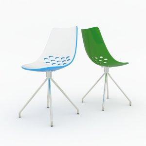 3d model calligaris jam chair cs1031