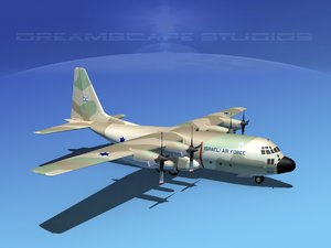 cargo lockheed c-130 hercules air dxf