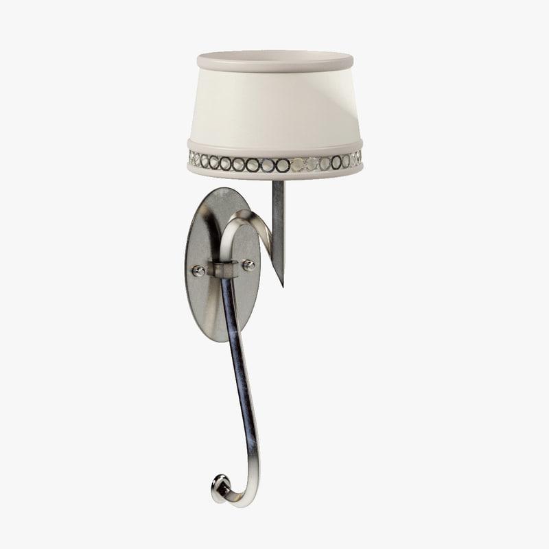 3d fine lamps allegretto silver