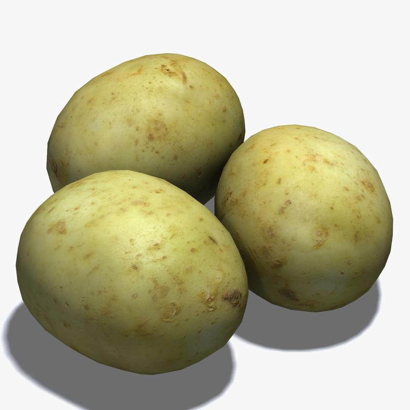 3ds max baking potato