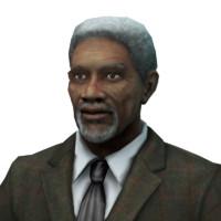 3dsmax morgan freeman man