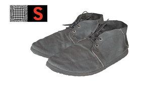 maya boots scan