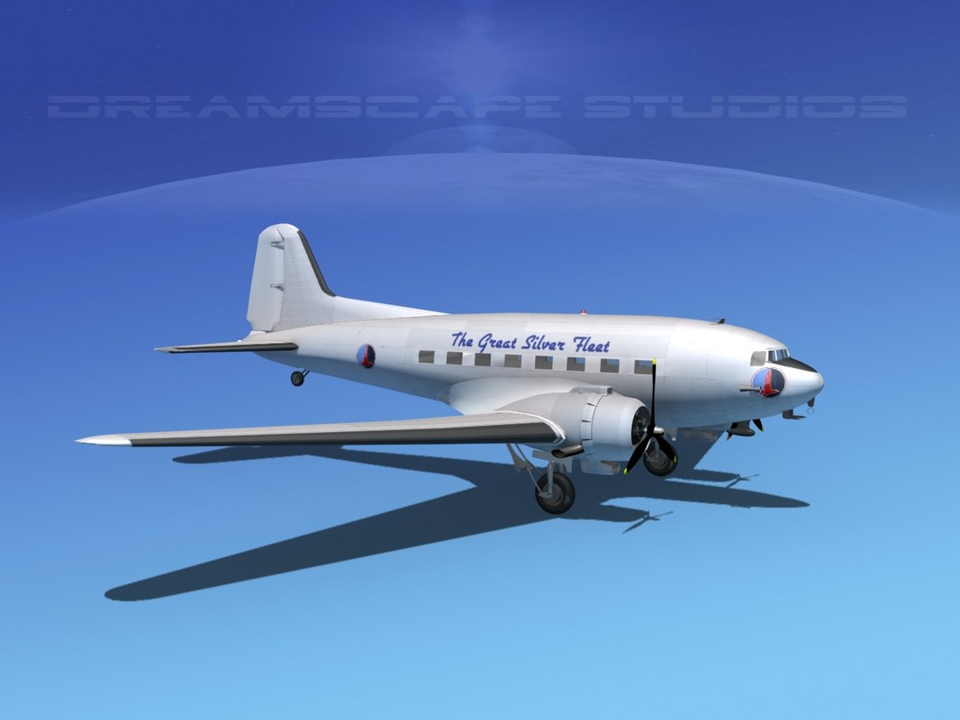 dc-3 airliners douglas max