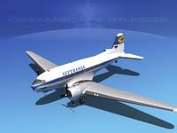 Douglas DC-3 Lufthansa