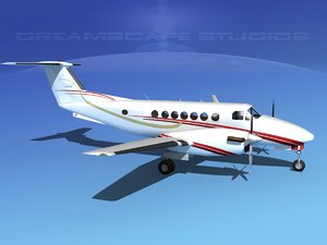 3ds propellers beechcraft super king air