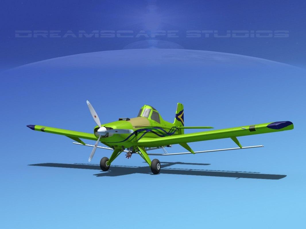 propellers dusting embraer 3d 3ds
