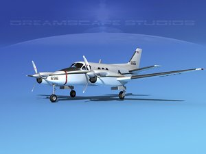 3d propellers beechcraft c-6 transporting