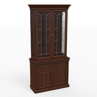 classic cupboard 3d model