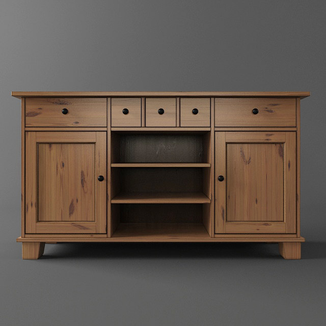 Ikea buffet 3d model for Sideboard ikea