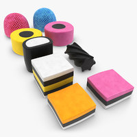 licorice allsorts 3d 3ds