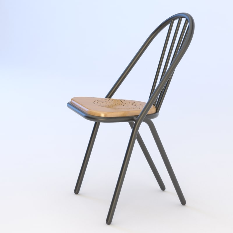 3d max surpil chair