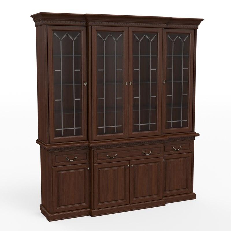 3ds max classic cupboard