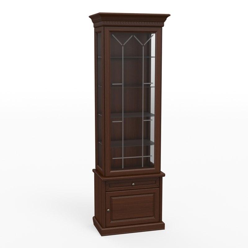 classic cupboard 3d obj
