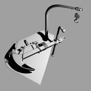 3d admiralty anchor