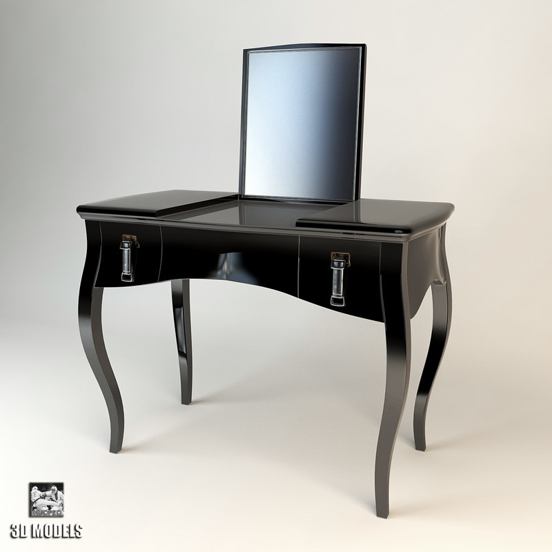 3d model fendi lady desk
