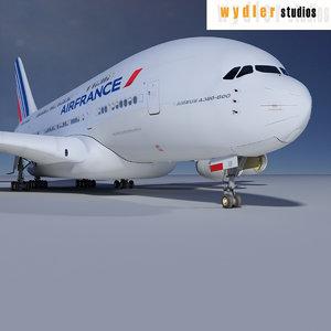 max a380 air france