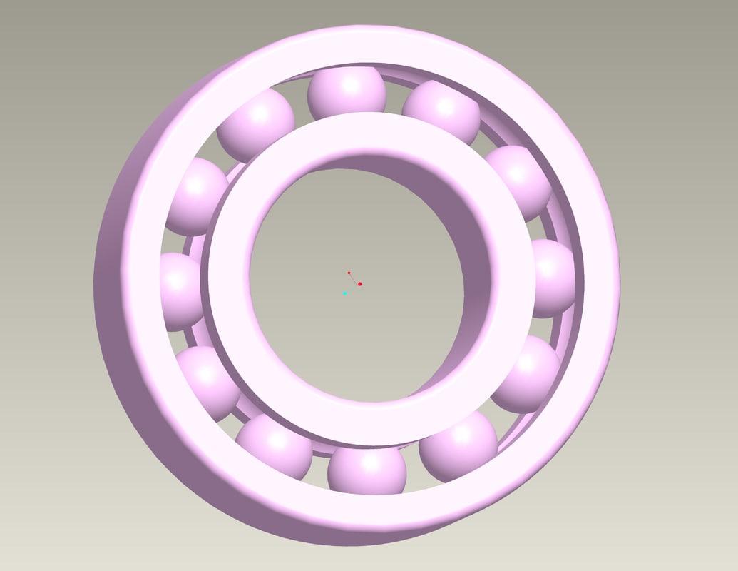 bearings 3d model