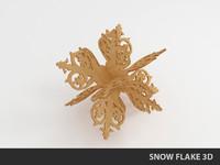 maya snow flake snowflake