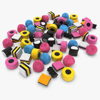 Licorice Allsorts Pose 2