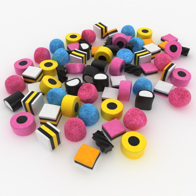 max licorice allsorts pose 2