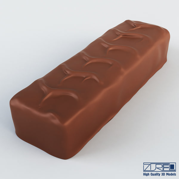 3ds max snickers chocolate bar v