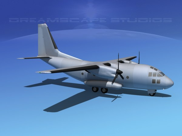 aircraft transports 3d model