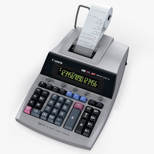3d model printing calculator canon mp1611-ltsc
