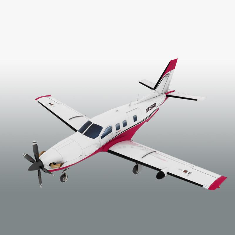 3dsmax turbopop aircraft turboprop