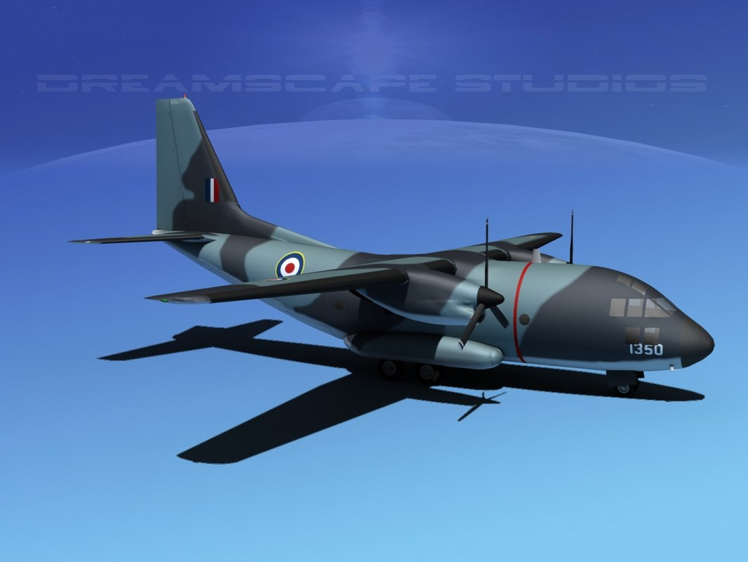 aircraft spartan transports 3d model
